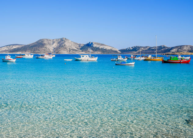Cícladas Menores, Grecia © Nicole Kwiatkowski / Shutterstock