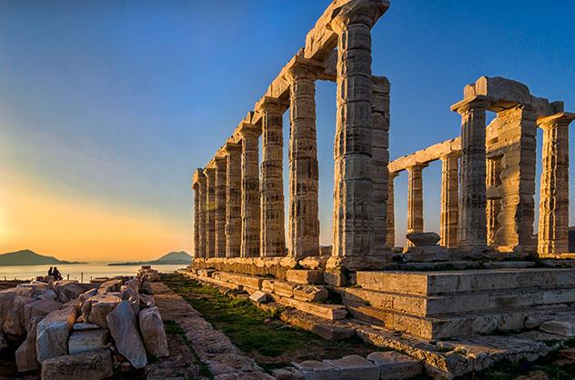 Carretera de Europa: ruta de Pireo a Sunión, Grecia