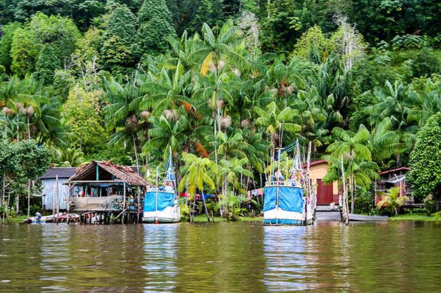 Pueblo costero de Guayana Francesa © evenfh / Shutterstock