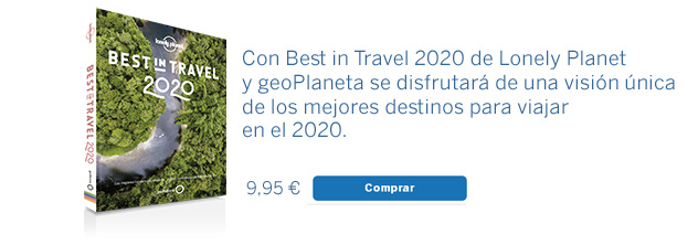 Guía Lonely Planet Best in Travel 2020