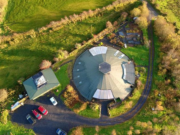 Gyreum Ecolodge, Sligo, Irlanda © www.gyreum.com