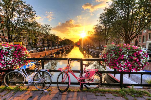 Ámsterdam, Holanda © Dennis van de Water / Shutterstock