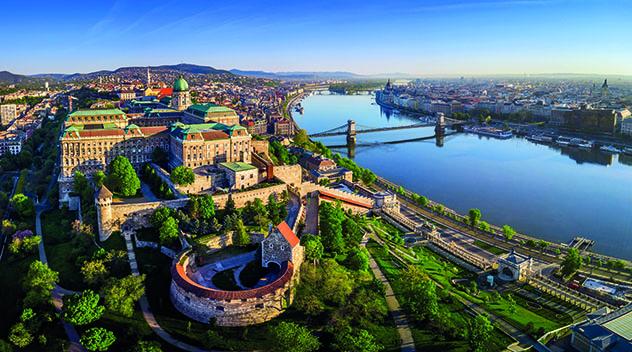 Budapest, colina del castillo, Hungría