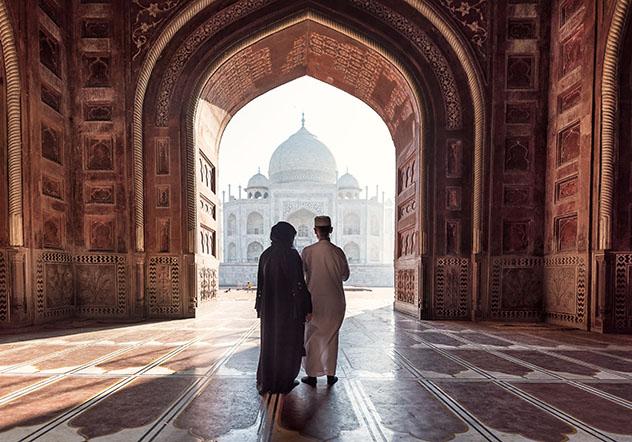 Lugares para declararse: el Taj Mahal, India