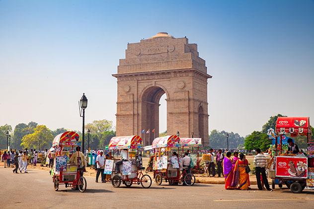 Delhi, ciudad en la que empieza el viaje en autobús