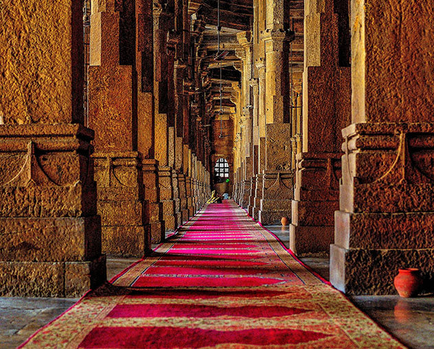 Guajarat: la Jama Masjid de Ahmedabad