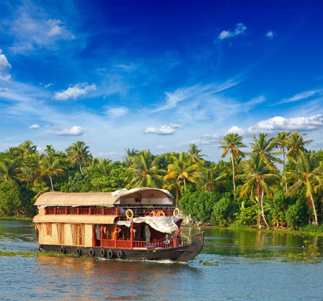 Crucero, Kerala, India © Dmitry Rukhlenko / Shutterstock