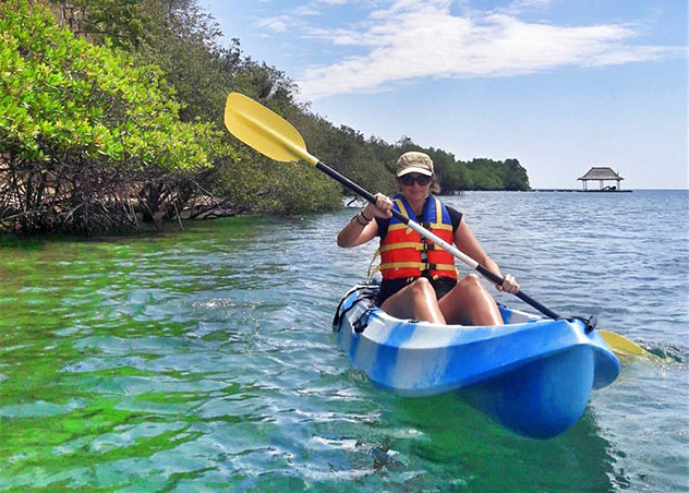Aventuras en Indonesia: kayak en Bali