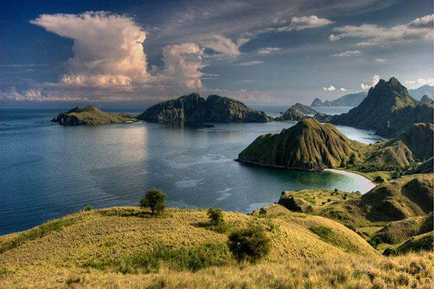 Nusa Tenggara, Indonesia: islas del archipiélago