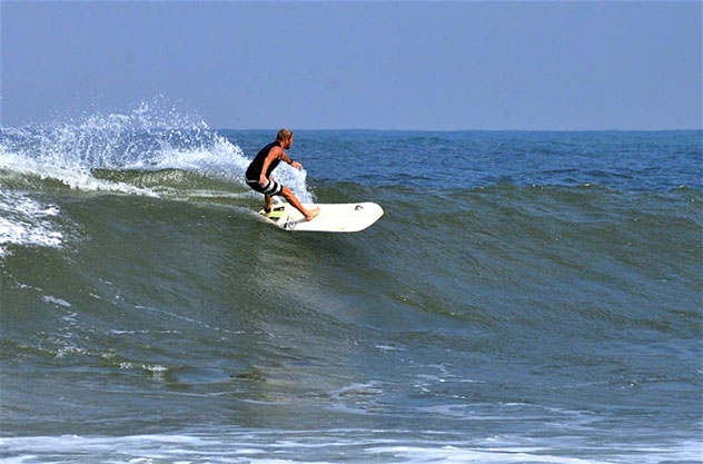 Aventuras en Indonesia: surf