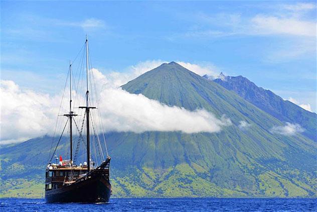 Aventuras en Indonesia: ascenso de volcanes