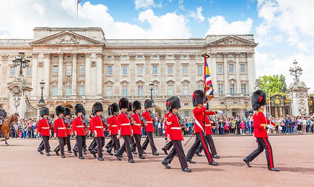 Cambio de Guardia, en Londres