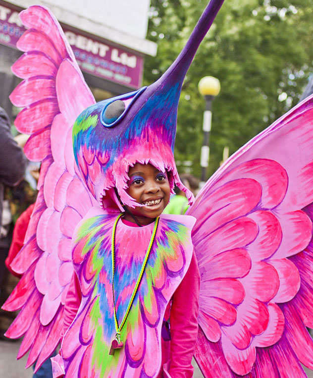 Carnaval de Notting Hill, una actividad divertida para niños en Londres