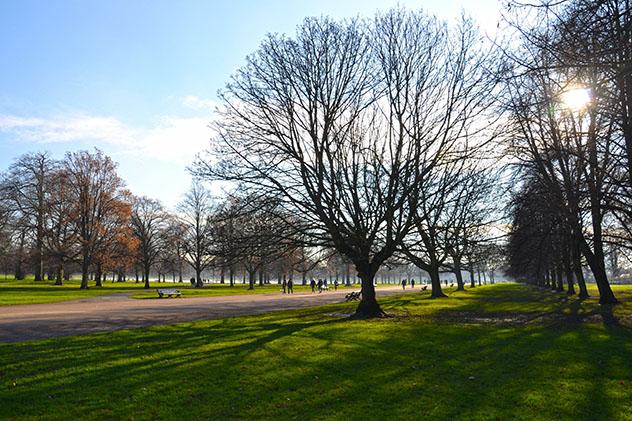 Londres: los jardines reales de Kensington