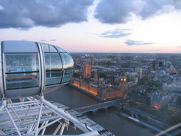 London Eye, la noria de Londres, Inglaterra © Thomas Crosley / Shutterstock