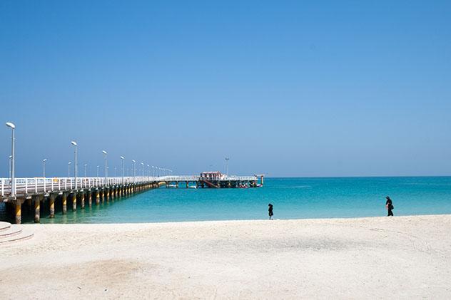Bucear en Oriente Próximo: el Golfo Pérsico, isla de Kish, Irán,