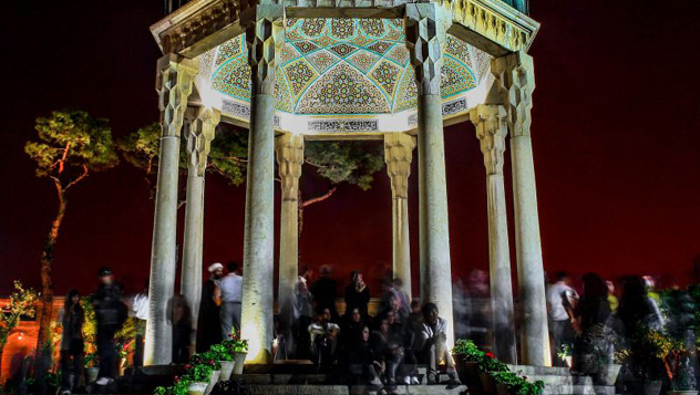 Tumba de Hafez, Shiraz, Irán © Herre van der Wal / Lonely Planet