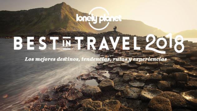 'Ranking' de las 10 mejores regiones para viajar en el 2018