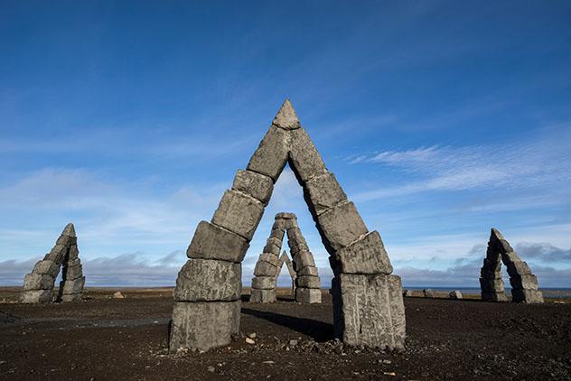 El enigmático monumento megalítico circular de Islandia, el Arctic Henge, bien merece un desvío, Islandia © Robert Postma / Design Pics