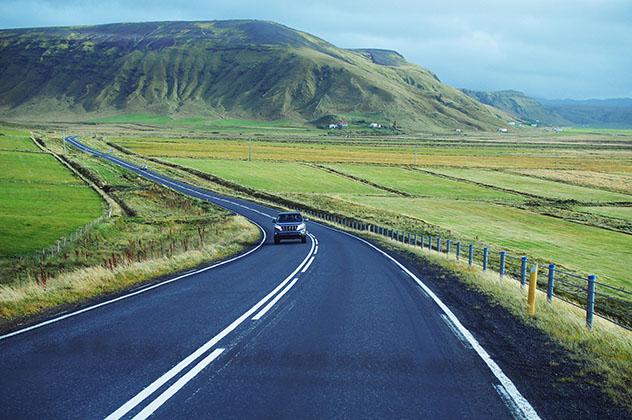 Carretera de Europa: carretera circular, Islandia