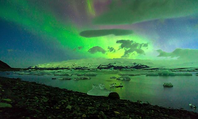 Lugar para declararse: Jökulsárlón, Islandia