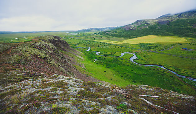 Sentir la soledad en estado puro en el Parque Nacional de Thingvellir, Islandia