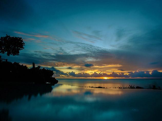 Piscina del Pacific Resort Aituiki, Islas Cook, Top 05 de Best in Asia Pacific 2019, los 10 mejores destinos de Asia-Pacífico