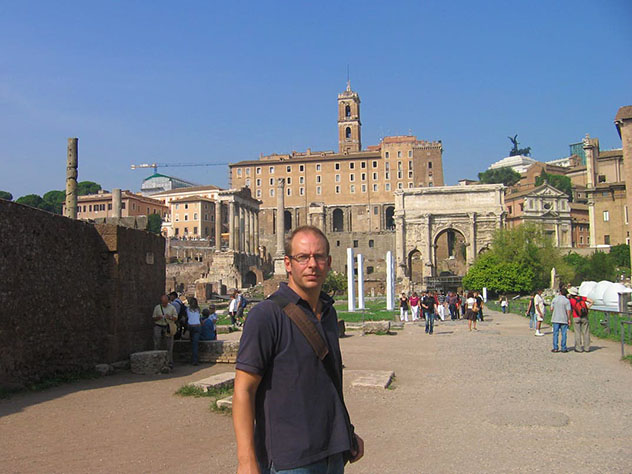 Duncan Garwood, autor de Lonely Planet Italia