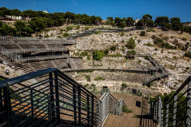 Anfiteatro Romano de Cagliari, Cerdeña © Jana Land / Shutterstock