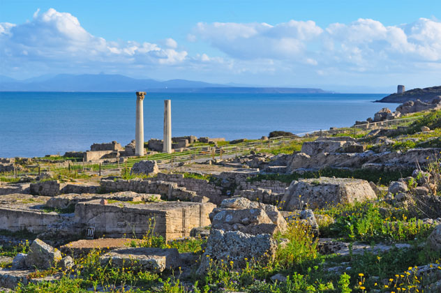 Yacimiento arqueológico de Tharros, Cerdeña © Hibiscus81 / Shutterstock