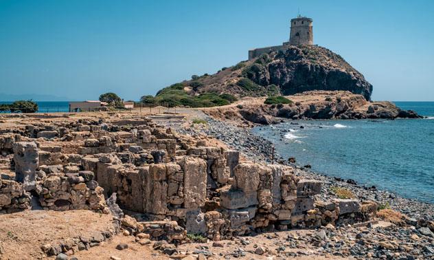 Yacimiento arqueológico de Nora, Cerdeña © Giorgio Morara / Shutterstock