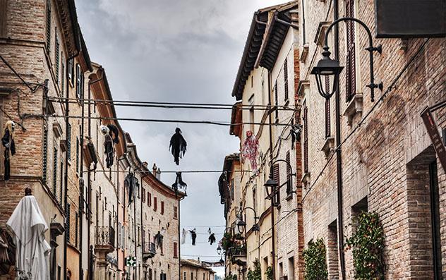 Halloween en Italia: Festival de Brujas en Corinaldo