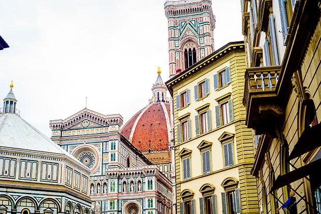 Duomo, Florencia, Italia © conssuella / Shutterstock
