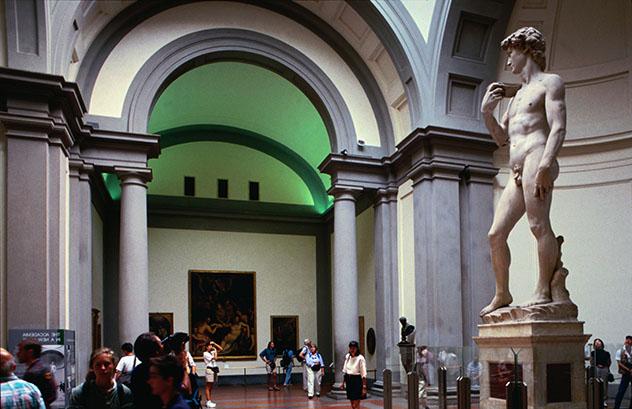 Parada del 'Grand Tour': Florencia, Galleria dell'Accademia