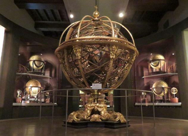 Esfera armilar, Museo Galileo, Florencia, Italia © Dage - Looking For Europe / Flickr