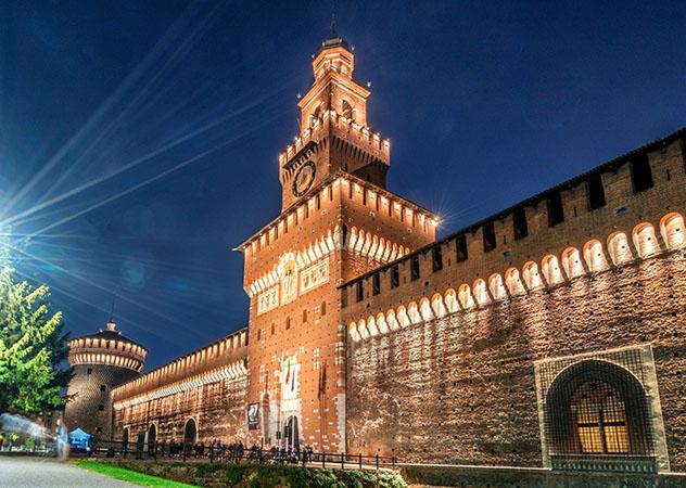 Milán: Castello Sforzesco