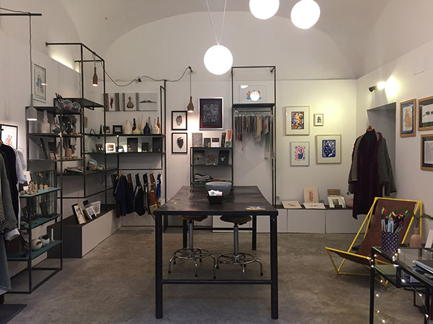 Nápoles: la 'boutique' Materia Mediterranea