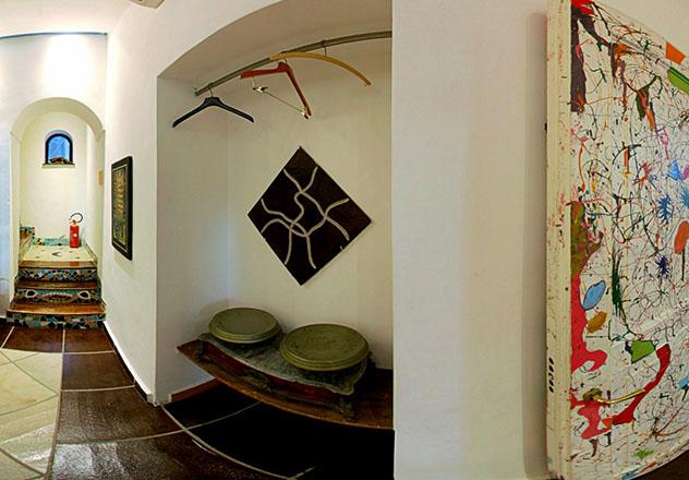 Nápoles: interior del alojamiento Casa del Monacone