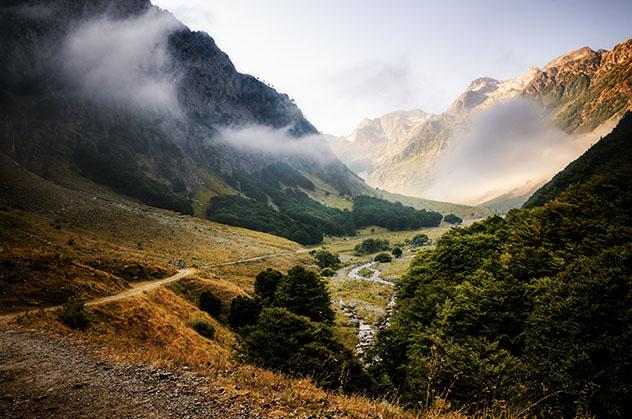Un remoto valle de montaña en el Parque Nacional de los Alpes Marítimos, Piamonte, Italia © Cristiano Alessandro / Getty Images