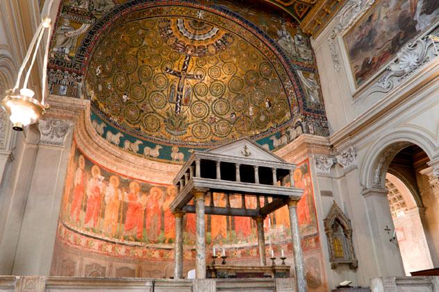 Basilica di San Clemente, Roma, Italia © Massimo Merlini / Getty Images
