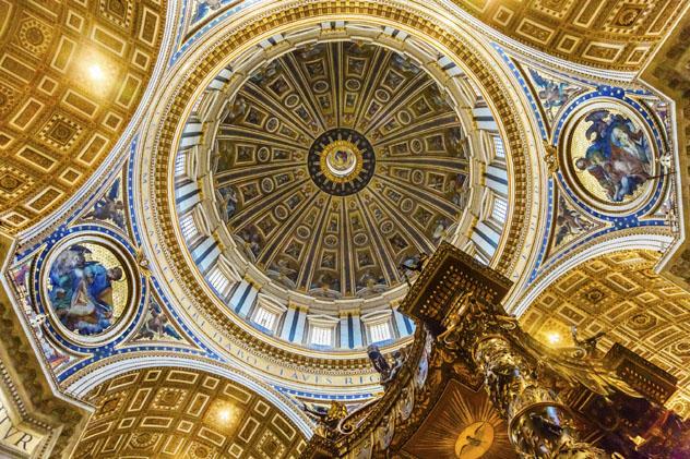 Basílica de San Pedro, Roma, Italia © Bill Perry / Shutterstock