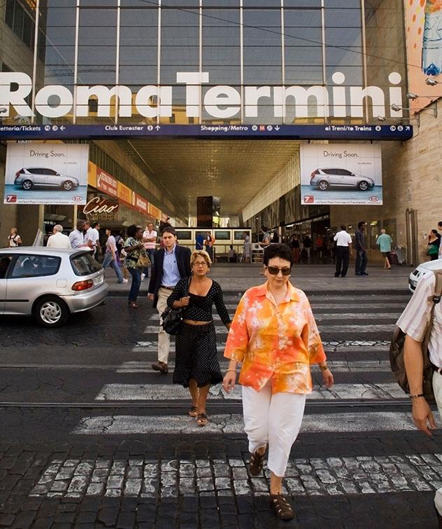 Estación de tren Termini, Roma, Italia. Viaje sostenible Lonely Planet