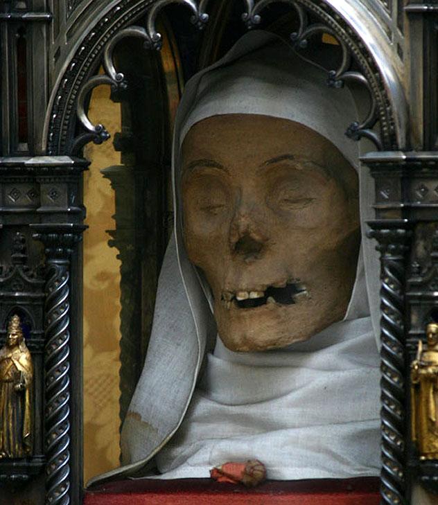 La cabeza de Santa Catalina de Siena, Basilica di San Domenico, Siena, Italia © Giovanni Cerretani / CC