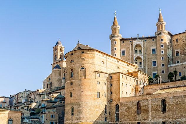 Palazzo Ducale de Urbino, Italia