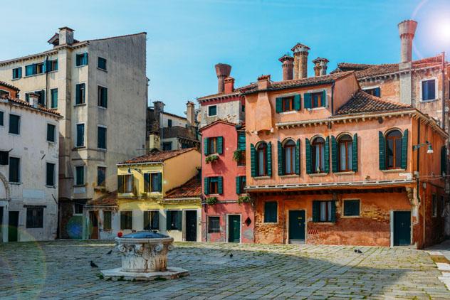Campo della Magdalena, Venecia, Italia © Alexandre Rotenberg / Shutterstock
