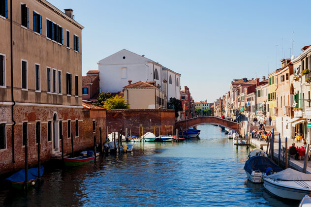 Cannaregio, Venecia, Italia © vvoe / Shutterstock