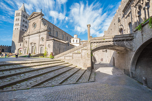 Parada del 'Grand Tour': Viterbo, casco histórico