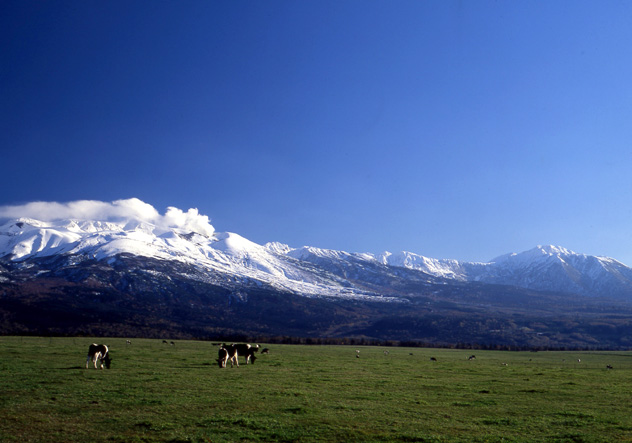 Monte Daisetsuzan, Hokkaido, Japón © Furano / JNTO