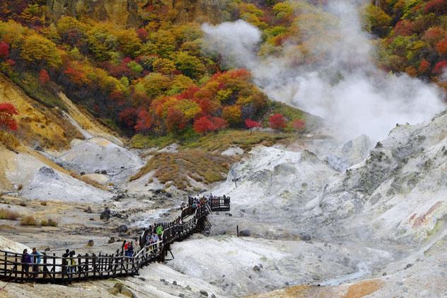Noboribetsu Onsen, Hokkaido, Japón © smalldaruma / Shutterstock