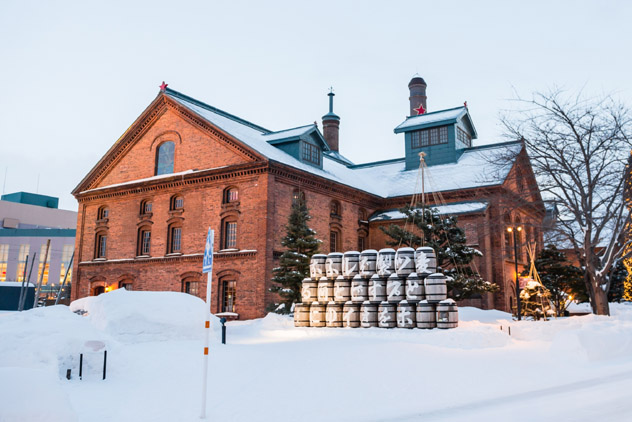 Museo de la Cerveza, Sapporo, Hokkaido, Japón © twoKim images / Shutterstock